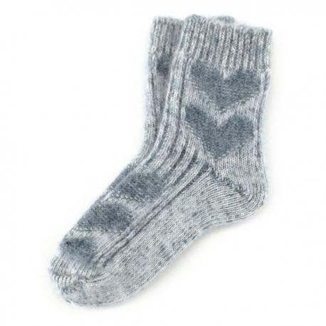 Подростковые вязаные носки для девочек.