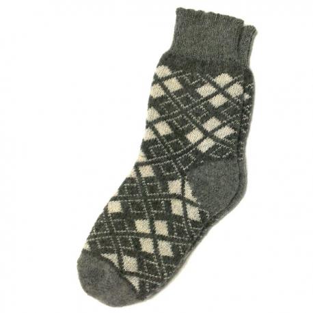 Теплые мужские шерстяные носки