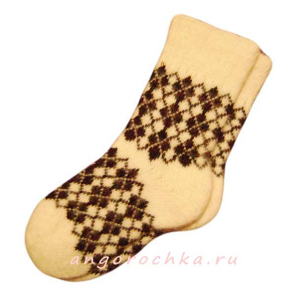 Купить мужские вязаные шерстяные носки за 190 рублей в ...