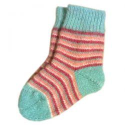 Детские шерстяные носки с полосками