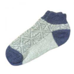 Короткие теплые  женские носки