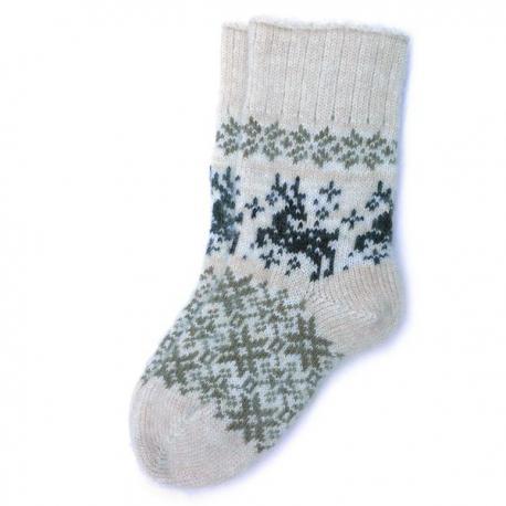 Женские носки с оленями