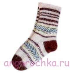 """Женские шерстяные носки """"Северянка"""""""