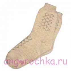 Мужские теплые шерстяные носки
