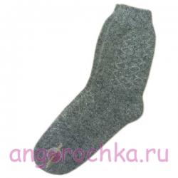 Мужские вязаные шерстяные носки