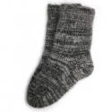 Мужские теплые шерстяные носки темного цвета