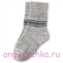 Мужские элегантные теплые шерстяные носки