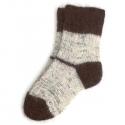 Стильные мужские теплые шерстяные носки