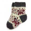 Детские шерстяные носки с бабочками