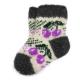 Детские шерстяные носки с ягодами
