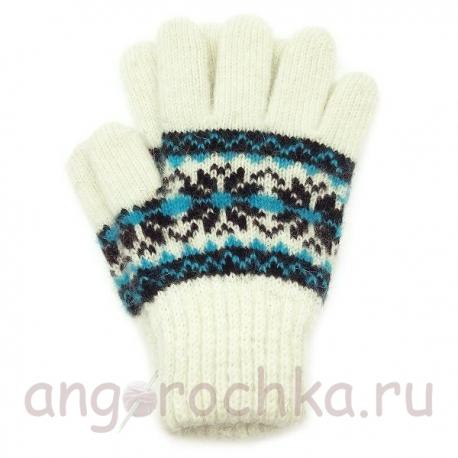 Детские перчатки из чистой шерсти