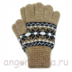 Теплые детские перчатки