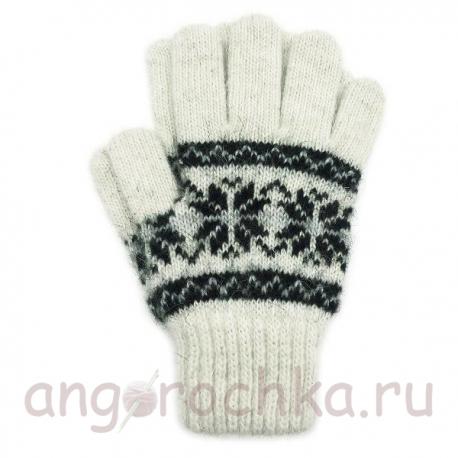 Шерстяные перчатки для мальчиков и девочек