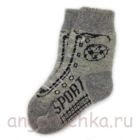 Детские шерстяные носки - спорт