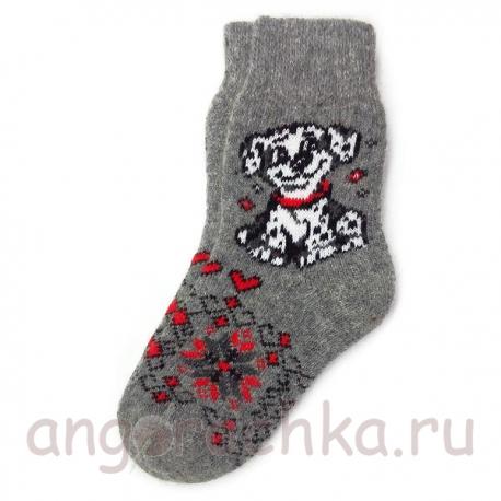 Женские шерстяные носки с веселым далматинцем