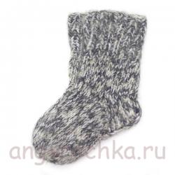 Детские шерстяные носки ручной работы