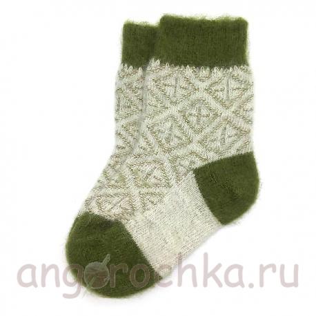 Детские шерстяные носки на каждый день