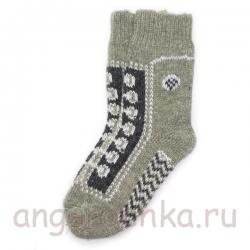 Теплые подростковые шерстяные носки