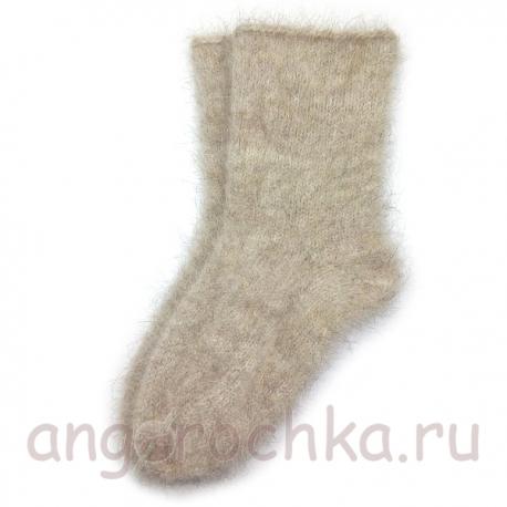 Мужские пуховые носки с верблюжкой