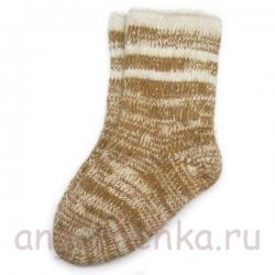 Мужские шерстяные носки с верблюжкой