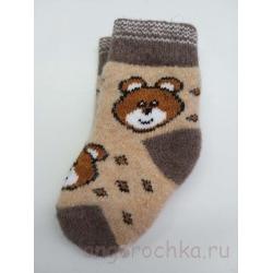Носки с медвежонком