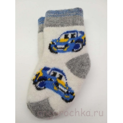 Детские носки с машинками