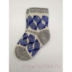 Детские носочки с орнаментом