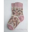 Носки с орнаментом женские