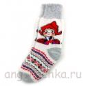 Носки женские с Красной Шапочкой