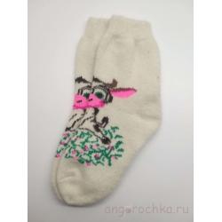 Носки женские с коровой