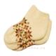Короткие вязаные женские шерстяные носки с орнментом