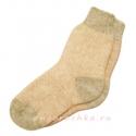 Женские двухцветные носки с резинкой
