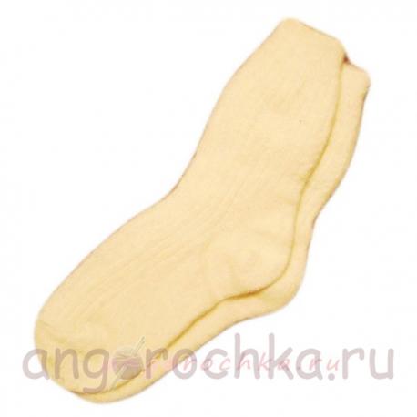 Женские однотонные носки с резинкой
