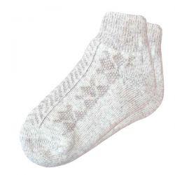 Короткие вязаные женские шерстяные носки