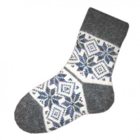 Женские вязаные шерстяные носки