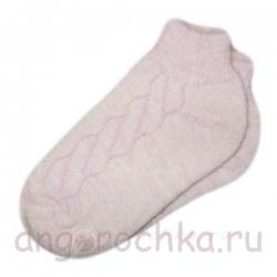 Короткие женские носки с резинкой