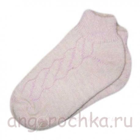 Кроткие женские носки с резинкой