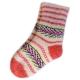 Подростковые вязаные шерстяные носки.