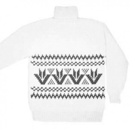 Теплый шерстяной свитер для охоты и рыбалки