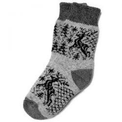 Мужские шерстяные носки с оленями