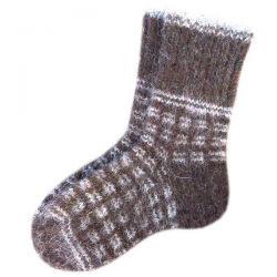 Мужские шерстяные носки ручной работы