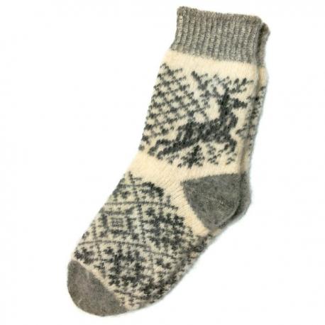 Женские шерстяные носки с олеями