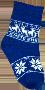 шерстяные носки с логотипом