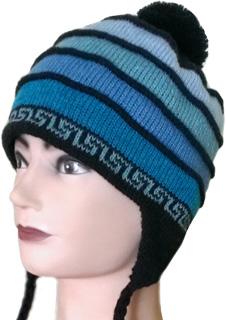 шерстяная шапка с логотипом