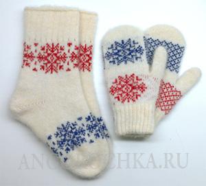 """Шерстяной комплект """"Россия"""""""